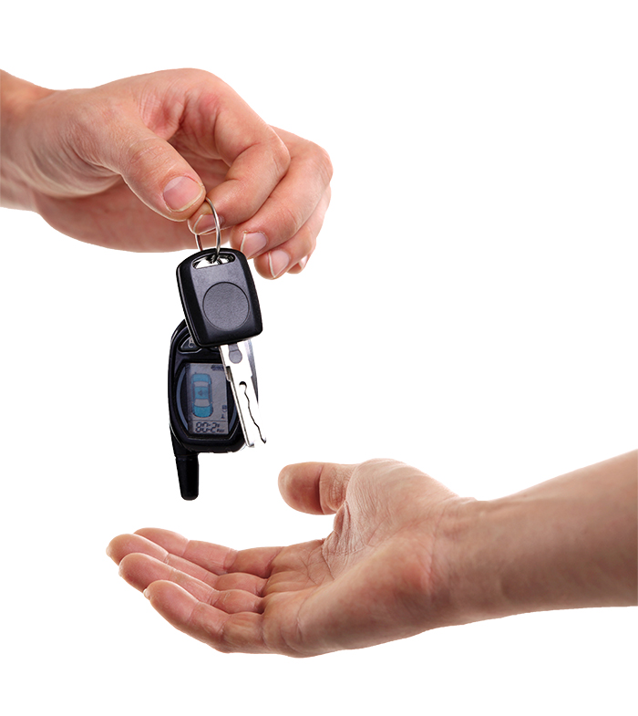 handing over your keys on Super Bowl Sunday
