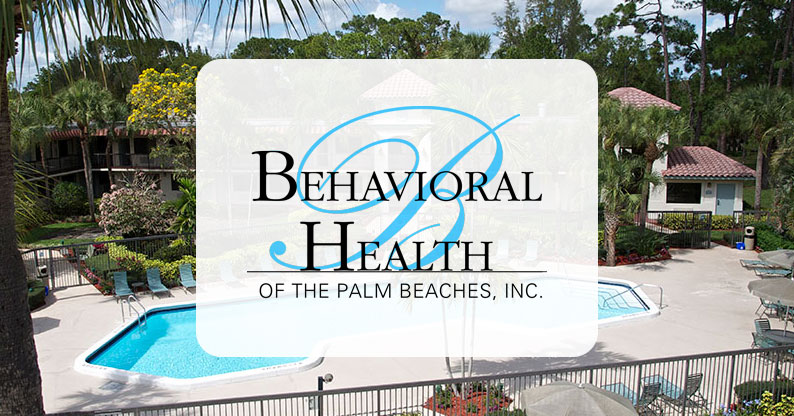 Behavioral Health Of The Palm Beaches Alcohol And Drug Treatment