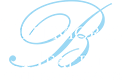 Blue and white behavioral health of the palm beaches logo